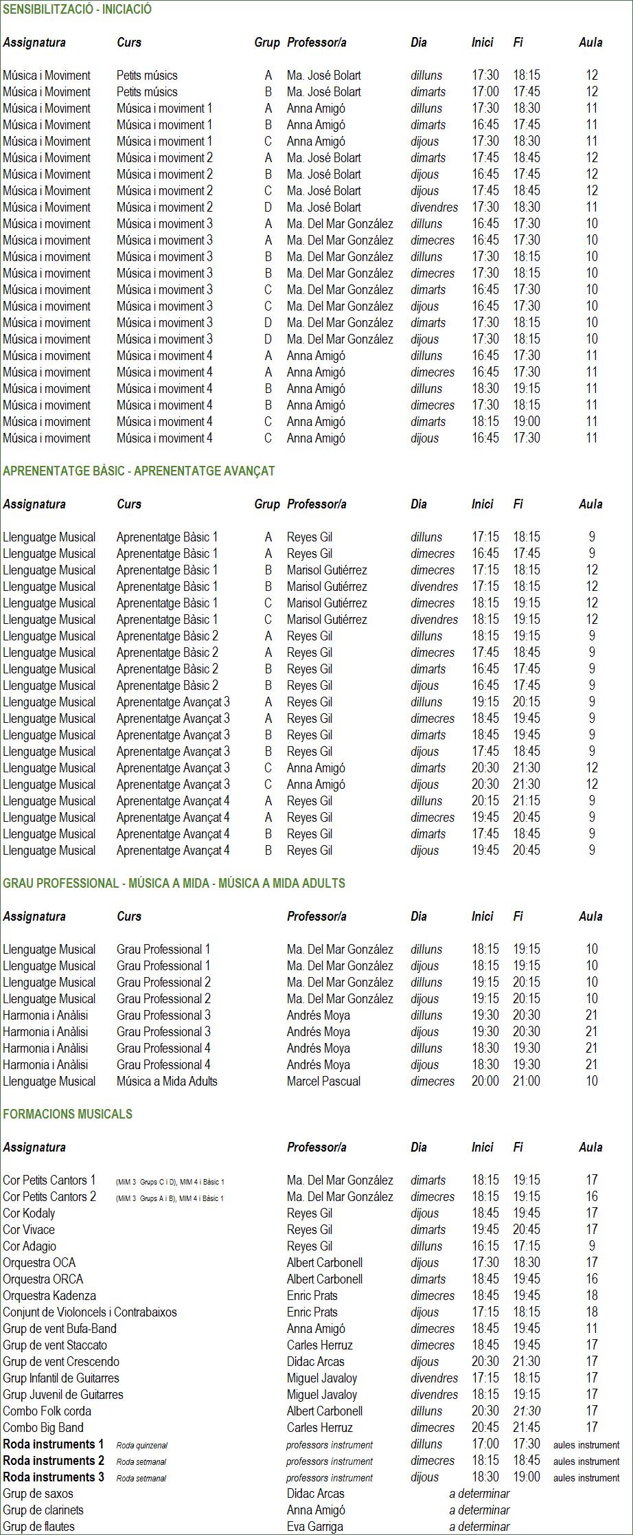 horaris 17-18