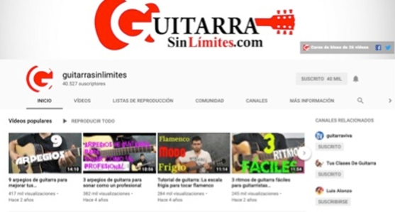 guitarra youtube